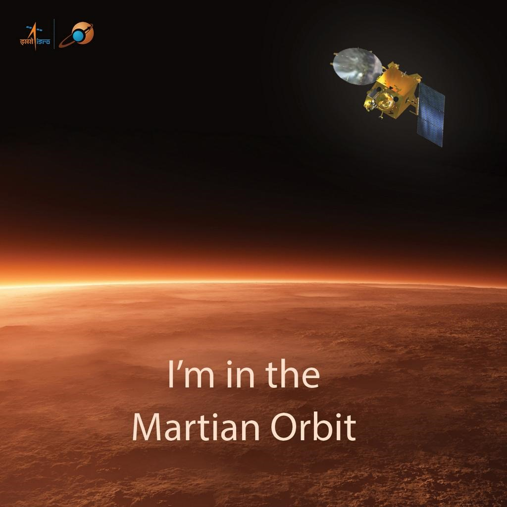 mars mission india creates history as mangalyaan - HD 1024×1024